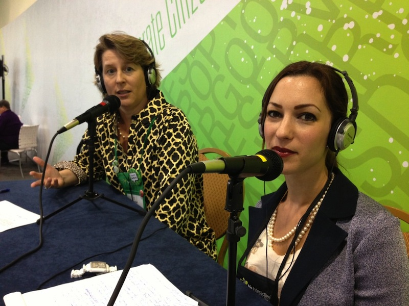 Hutchisson and Dellaccio at bbcon mics