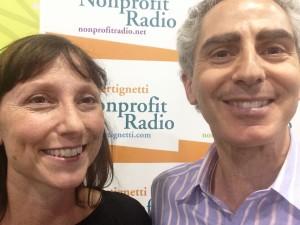 Melanie Morton and Tony at bbcon