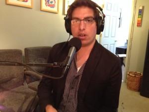 Derrick Feldmann in studio