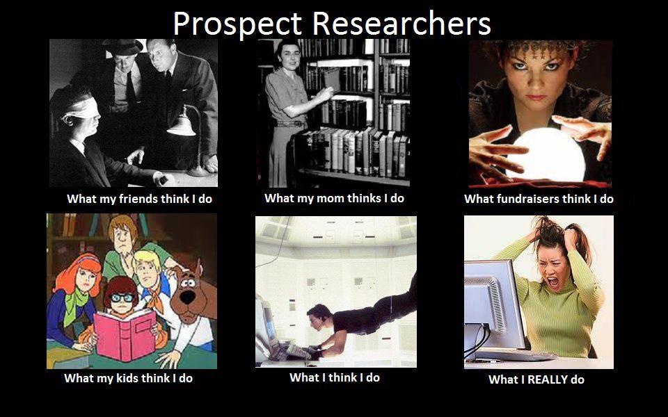 Prospect Research meme
