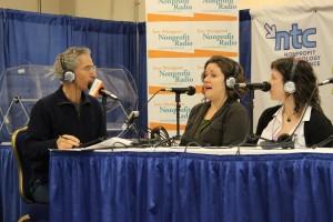 With Lauren Girardin (center) and Shari Ilsen at NTC